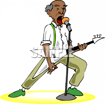clip art rock and roll