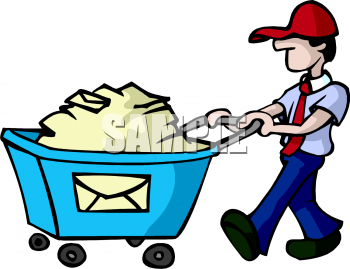 The Clip Art Directory - Mailman Clipart, Illustrations ...