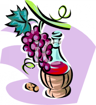 Wine Grapes Clip Art